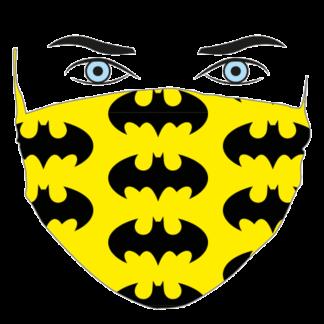 mascherina per bambini BATMAN