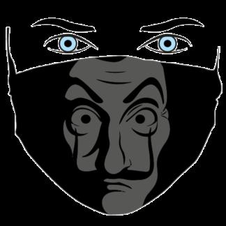 mascherina uomo la casa di carta