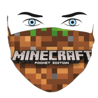 mascherina MINECRAFT